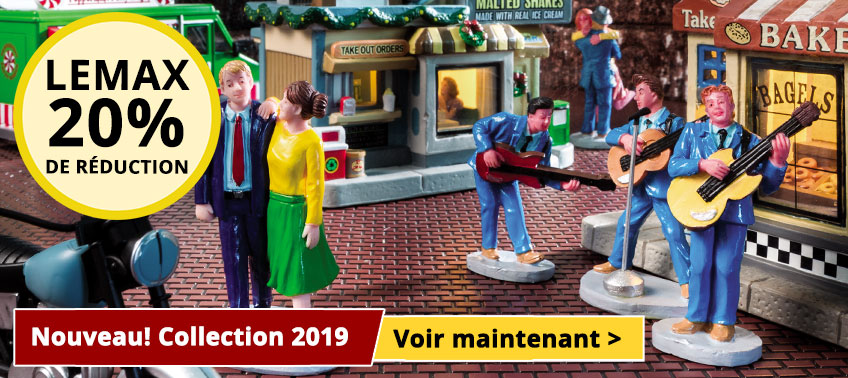 Collection Lemax 2019