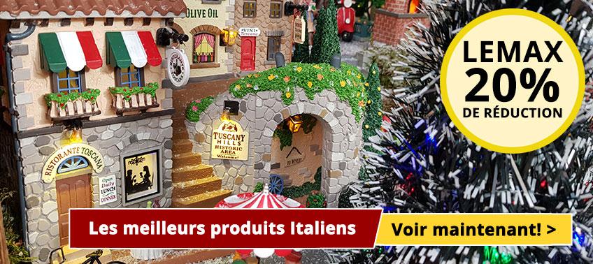 Les meilleurs produits Italiens