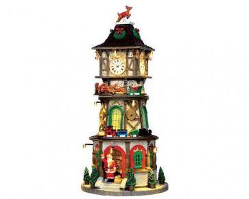 Lemax Christmas Clock Tower + 4,5 Volt Adaptateur