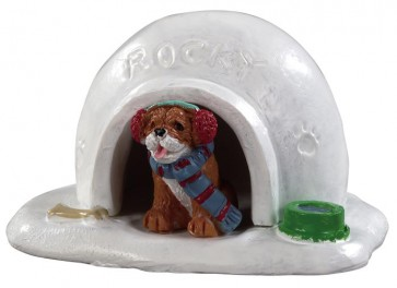Lemax Igloo Pour Chien
