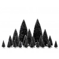 Lemax Assorted Pine Trees 21 pc