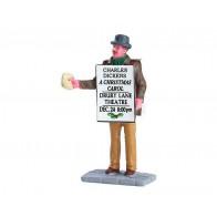 Lemax Sandwich Board Man