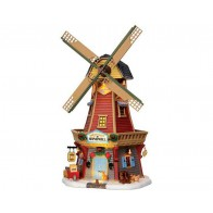 Lemax Harvest Valley Windmill + 4,5 Volt Adaptateur