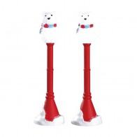 Lemax Polar Bear Street Lamp