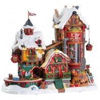 Lemax Elf Made Toy Factory + 4,5 Volt Adaptateur