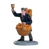 Lemax Bread Peddler