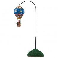 Lemax Reindeer Hot Air Balloon