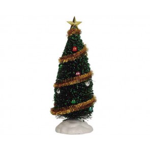 Lemax Sparkling Green Christmas Tree, Large