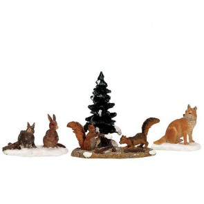 Lemax Woodland Animals