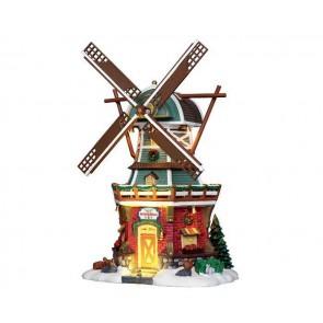 Lemax Stony Brook Windmill + 4,5 Volt Adaptateur