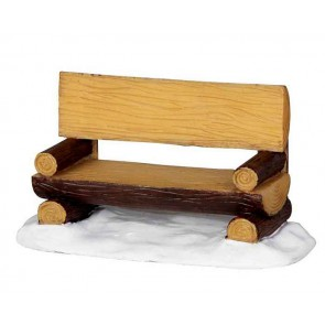 Lemax Log Bench