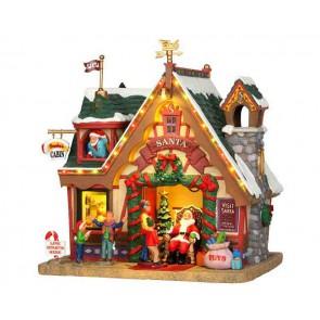 Lemax Santa'S Cabin + 4,5 Volt Adaptateur