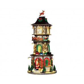 Lemax Christmas Clock Tower + 4,5 Volt Adaptateur