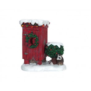 Lemax Christmas Outhouse