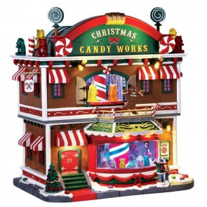 Lemax Christmas Candy Works + 4,5 Volt Adaptateur