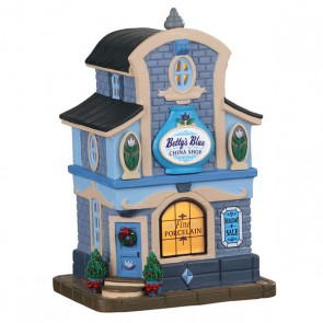 Lemax Magasin De Porcelaine Betty'S Blue