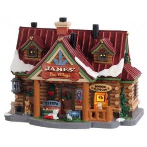 Lemax Village Pour Animaux James