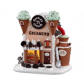 Lemax Crème Glacée Aux Biscuits Et À La Crème