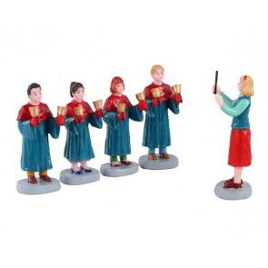 Lemax Chorale Avec Clochettes