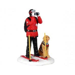 Lemax Patrouille De Ski