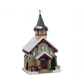 Lemax Chapelle Saint-Bernard