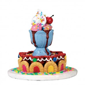 Lemax Sundae Fountain