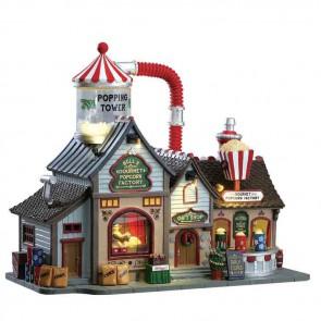 Lemax Bell'S Gourmet Popcorn Factory + 4,5 Volt Adaptateur