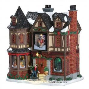 Lemax Scrooge'S Manor + 4,5 Volt Adaptateur