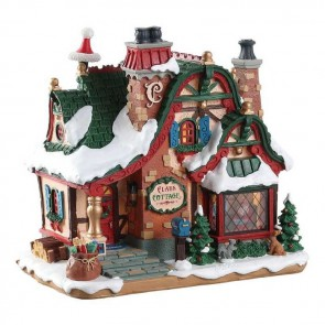 Lemax The Claus Cottage