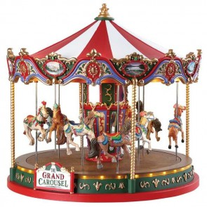 Lemax The Grand Carousel + 4,5 Volt Adaptateur