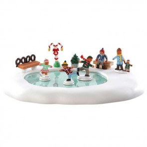 Lemax Gingerbread Skating Pond
