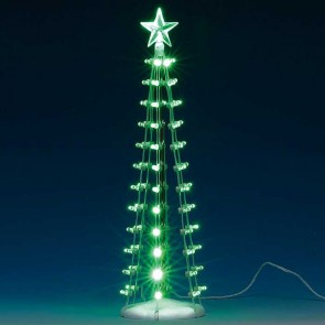 Lemax Lighted Silhouette Tree, Green