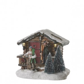Luville Holiday Ski Lodge Brown