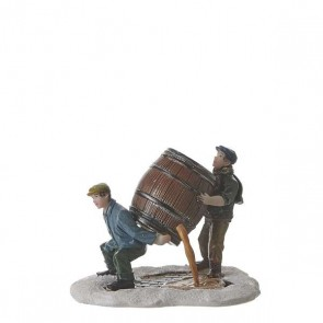 Luville Lifting a Barrel