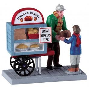 Lemax Chariot De Livraison De Boulangerie
