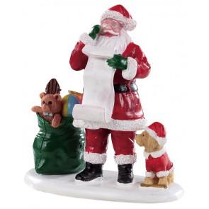Lemax Liste Du Père Noël