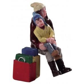 Lemax Pause Durant Les Achats De Noël