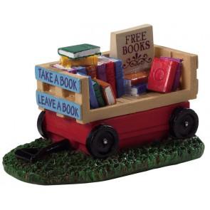 Lemax Chariot De Livres