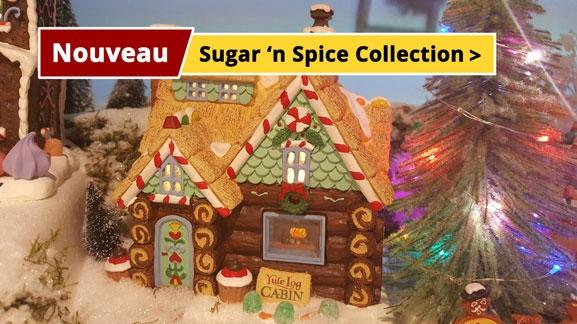 Lemax Sugar 'n Spice collection nouveau