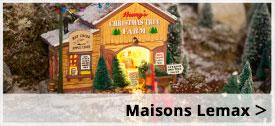 Lemax Maisons de Noël