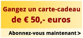Gangez un carte-cadeau de 50 euros